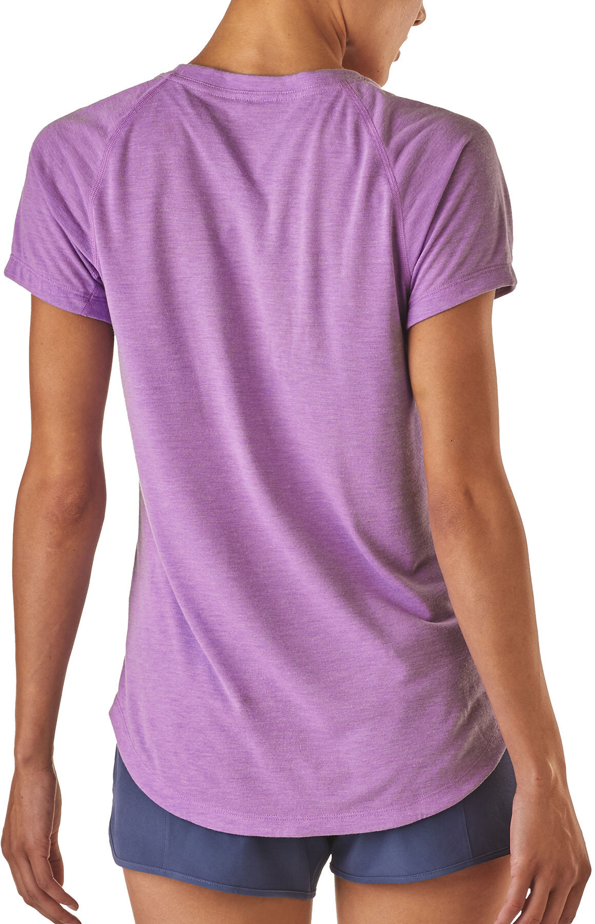 Mujer Manga Nine Violeta Trails Patagonia Camiseta Corta Onw0Pk